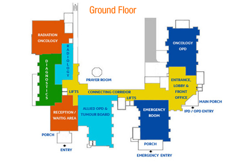 Dharamshila Narayana Superspeciality Hospital Map