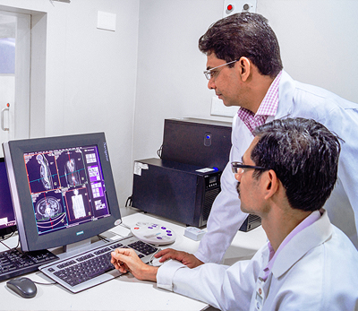 World Class Technologies for Breast Cancer Diagnosis and Staging work up Digital X-Ray, Ultrasound & Mammography, PET CT, MRI, Gamma Camera, Image Guided Biopsies etc.